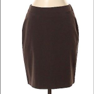 The Limited Brown Pencil Stretch Pencil Skirt 4